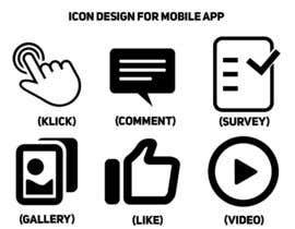 #1 untuk Icon Design for Mobile App oleh voody84