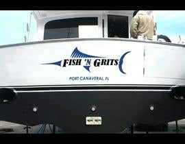 #21 untuk I need some Graphic Design for Boat transom art oleh Hayesnch