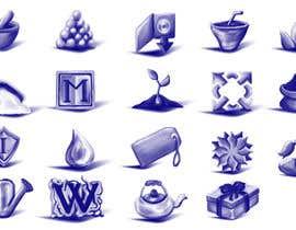 #89 untuk Design Icons for new Bulk Herb Store website oleh zoomlander