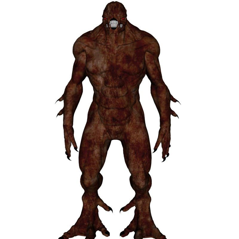 Bài tham dự cuộc thi #                                        3                                      cho                                         [3D-Model] Leather Monster
