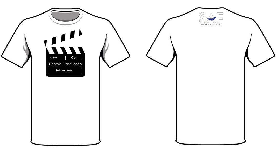 Contest Entry #68 for Design a T-Shirt for Stray Angel Films
