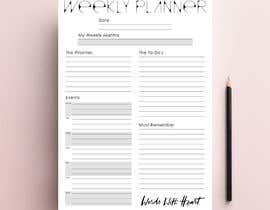 #20 for Design a simple, stylish planner by ink33