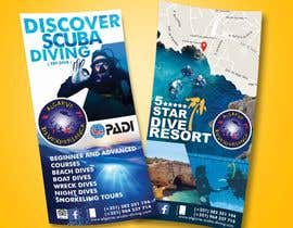 #22 untuk Design leaflet, a-board and advertisement for Dive Centre oleh binoy263