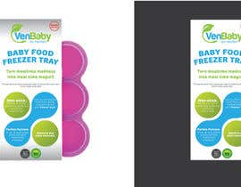 abhikreationz tarafından Create Print and Packaging Designs for Baby Food Freezer Tray için no 18
