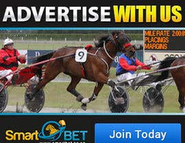 "#17 untuk Harness racing banner ad design ""advertise with us"" oleh SJADDesigns"