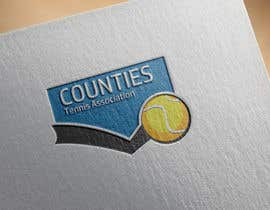 #40 untuk Design a Logo for Counties Tennis Association oleh DigitalTec
