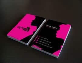 #90 untuk Makeup Artist Business Card Design oleh Nahidrahman19