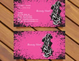 #99 untuk Makeup Artist Business Card Design oleh bluedesign1234