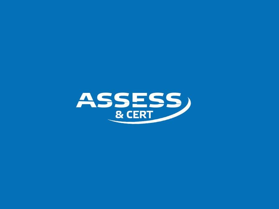 Penyertaan Peraduan #136 untuk Logo For Company Called Assess and Cert