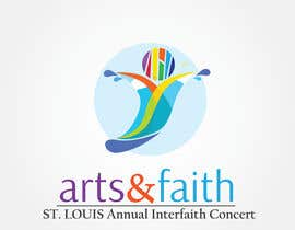 #59 untuk Arts & Faith St. Louis Interfaith Concert Logo oleh dighie31
