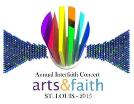 #42 untuk Arts & Faith St. Louis Interfaith Concert Logo oleh lfniederauer