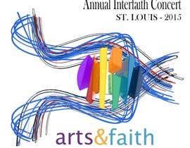 #198 untuk Arts & Faith St. Louis Interfaith Concert Logo oleh lfniederauer