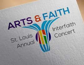 #194 untuk Arts & Faith St. Louis Interfaith Concert Logo oleh Serghii