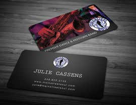 #33 untuk Design some Business Cards for a Music Band oleh anikush