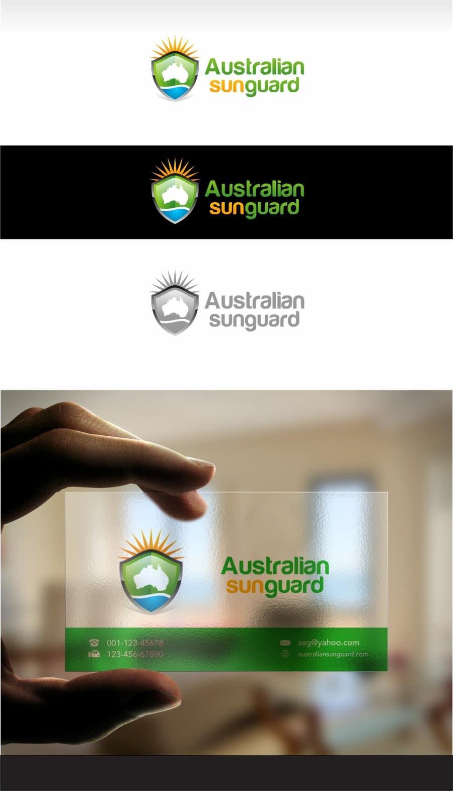#92 for Design a Logo for Australian Sun Guard by jummachangezi