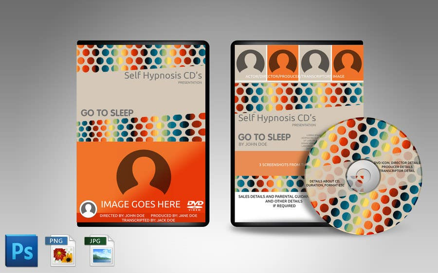 f48a05532f08 Contest Entry #8 for Create Print and Packaging Designs for Self Hypnosis  DVD set