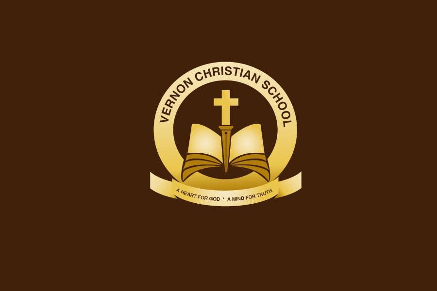 Konkurrenceindlæg #                                        116                                      for                                         Logo Design for Vernon Christian School