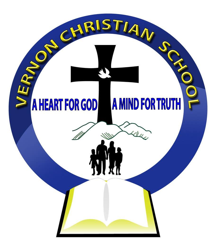 Entry #72 by FDsign00 for Logo Design for Vernon Christian School ...