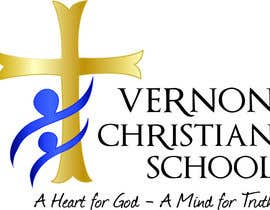 #45 para Logo Design for Vernon Christian School por jennfeaster