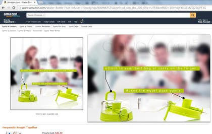 #13 untuk Create informative product photos for Amazon oleh LeeniDesigns