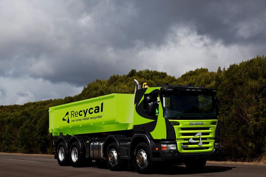 Kilpailutyö #128 kilpailussa Design our the colour scheme/artwork for our new trucks