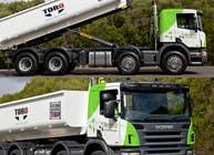 Graphic Design Kilpailutyö #154 kilpailuun Design our the colour scheme/artwork for our new trucks