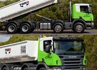 Graphic Design Kilpailutyö #156 kilpailuun Design our the colour scheme/artwork for our new trucks