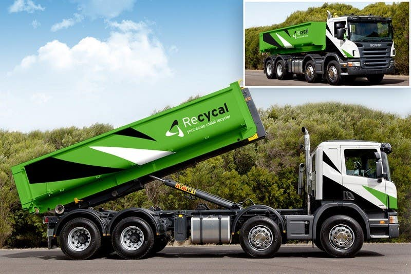 Kilpailutyö #50 kilpailussa Design our the colour scheme/artwork for our new trucks