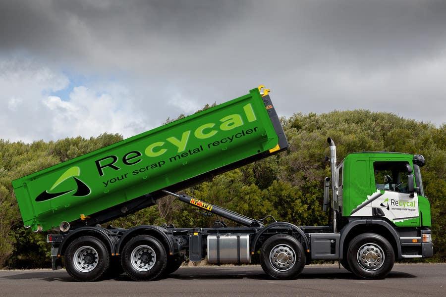 Kilpailutyö #145 kilpailussa Design our the colour scheme/artwork for our new trucks