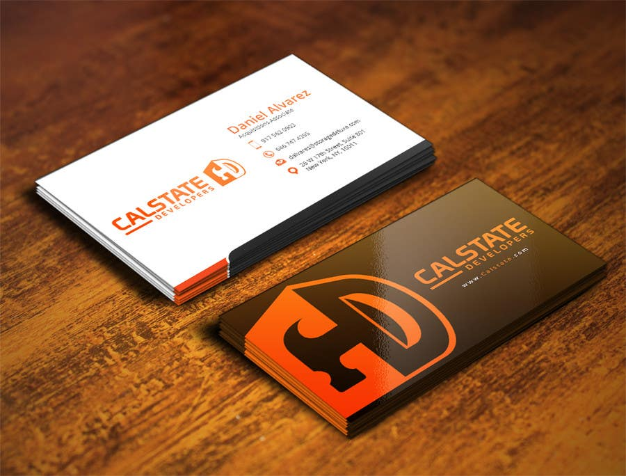 Entry #86 by mohanedmagdii for Design some Business Cards for ...