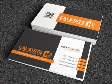 #59 untuk Design some Business Cards for Construction Company oleh LeeniDesigns