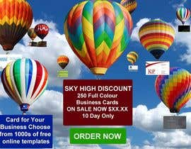 #4 untuk Design a Banner for marketing of a  print product (Air Balloon concept) oleh designsvilla