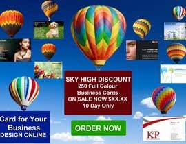 #11 untuk Design a Banner for marketing of a  print product (Air Balloon concept) oleh designsvilla