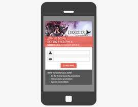 #4 untuk Design a Newsletter Sign Up Banner oleh mufzilkp