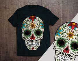 #99 untuk Design a Skull for t-shirt design oleh aandrienov