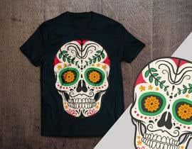 #100 untuk Design a Skull for t-shirt design oleh aandrienov