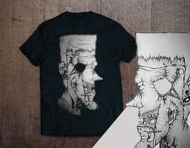 #111 untuk Design a Skull for t-shirt design oleh aandrienov