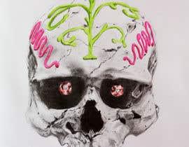 #63 untuk Design a Skull for t-shirt design oleh joseantoniomv