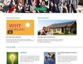 #17 untuk Design a Website Mockup for  solartippingpoint.com oleh doomshellsl