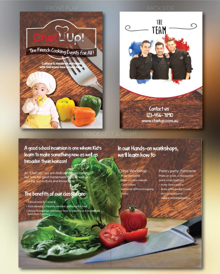 Penyertaan Peraduan #16 untuk Design a Brochure for School activities for Kids