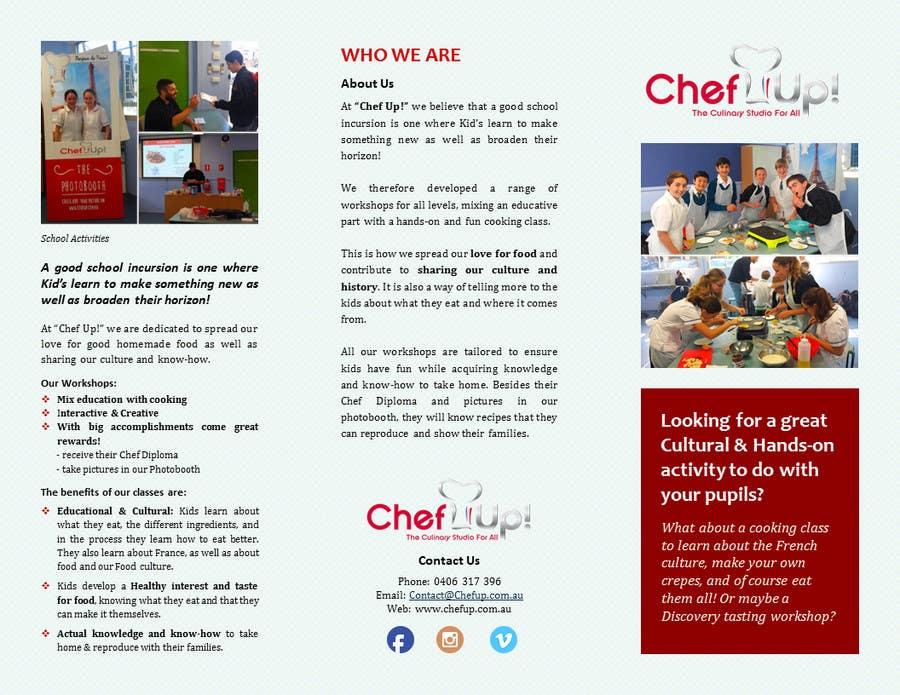 Penyertaan Peraduan #13 untuk Design a Brochure for School activities for Kids