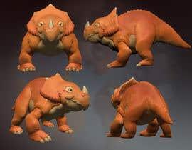 anheroe tarafından Do some 3D Modelling for  a cute baby dinosaur için no 32