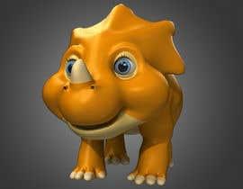 Ke8c9 tarafından Do some 3D Modelling for  a cute baby dinosaur için no 23