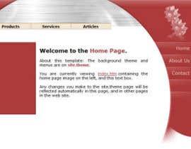 #7 untuk Design eines Website-Modells for dualda.com profiles oleh payfreeme