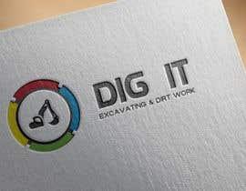 #64 untuk Design a Logo for DIG IT Excavating and Dirt Work oleh DigitalTec