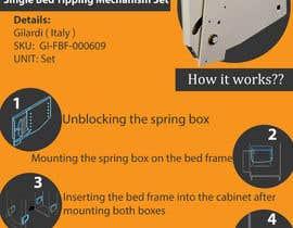 #5 untuk Design a Flyer for Fold away bed fitting oleh vjcatacutan22