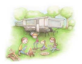 verapavlova tarafından Illustrate Something for Children's Book - camping theme için no 15