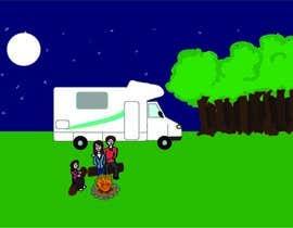 giselarodrigues tarafından Illustrate Something for Children's Book - camping theme için no 26
