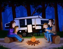 studiokimus tarafından Illustrate Something for Children's Book - camping theme için no 18