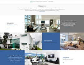 yasirmehmood490 tarafından Design a Website Mockup for Real Estate Site için no 4